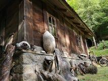 Casa vieja del etno foto de archivo