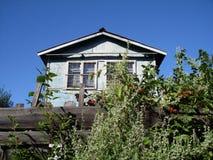 Casa vieja del horor Fotos de archivo libres de regalías