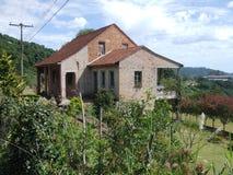 Casa vieja del ladrillo Fotografía de archivo