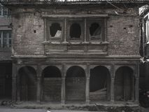 Casa vieja del newari Imágenes de archivo libres de regalías