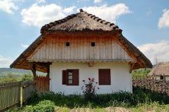 Casa vieja del pueblo Foto de archivo libre de regalías