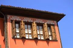 Casa vieja del renacimiento Imagenes de archivo
