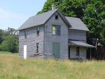 Casa vieja en Baraboo rural, Wisconsin Fotos de archivo libres de regalías