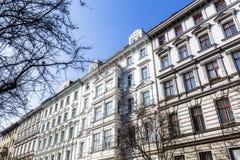 Casa vieja en Berlin Kreuzberg imagenes de archivo