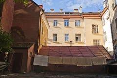 Casa vieja en Chernivtsi Fotografía de archivo