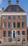 Casa vieja en el centro de Groninga Fotos de archivo