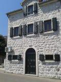 Casa vieja en el mar Fotografía de archivo