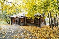 Casa vieja en el parque Imagen de archivo