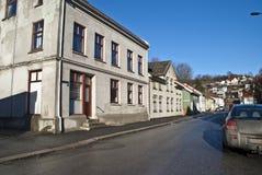 Casa vieja en Halden. fotos de archivo