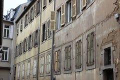 Casa vieja en Kolmar Foto de archivo