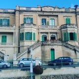 Casa vieja en Malta imagenes de archivo
