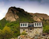 Casa vieja en Melnik Fotos de archivo libres de regalías