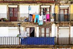Casa vieja en Oporto Fotos de archivo libres de regalías