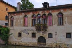 Casa vieja en Padua Italia imágenes de archivo libres de regalías