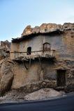 Casa vieja en piedra, en Maaloula Fotografía de archivo