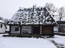 Casa vieja en Rumania Fotos de archivo