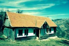 Casa vieja en Rumania Fotografía de archivo