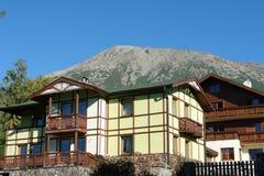Casa vieja en Stary Smokovec. Fotografía de archivo libre de regalías