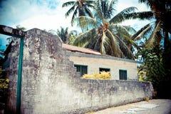 Casa vieja en trópico fotografía de archivo libre de regalías
