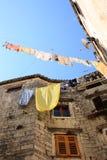 Casa vieja en Trogir Fotos de archivo