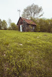 Casa vieja en verano Imagen de archivo
