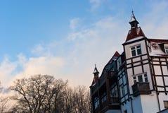Casa vieja en Zelenogradsk Imagen de archivo