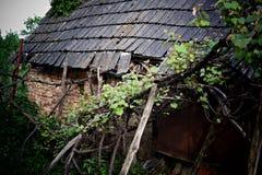 Casa vieja espeluznante Imagen de archivo libre de regalías