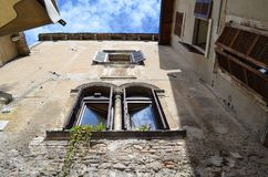 Casa vieja italiana fotos de archivo libres de regalías