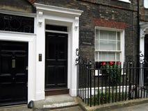 Casa vieja pintoresca de Londres Fotos de archivo libres de regalías