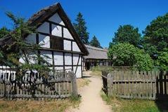 Casa vieja Polonia de los fishermans Fotos de archivo