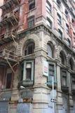Casa vieja y abandonada en Philadelphia Fotos de archivo