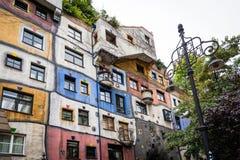 Casa Viena, Austria de Hundertwasser Imágenes de archivo libres de regalías