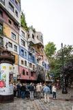 Casa Viena, Austria de Hundertwasser Imagen de archivo
