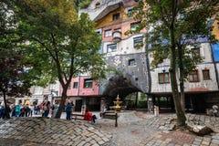 Casa Viena, Austria de Hundertwasser Imagen de archivo libre de regalías