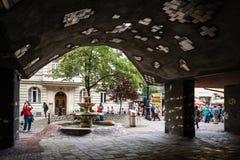 Casa Viena, Austria de Hundertwasser Fotos de archivo libres de regalías