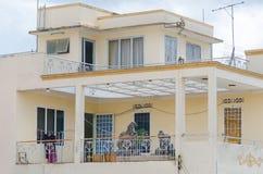 Casa vietnamita con las terrazas Imagenes de archivo