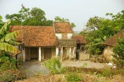 Casa vietnamita tipica Fotografia Stock Libera da Diritti