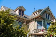 Casa vitoriano velha Imagem de Stock Royalty Free