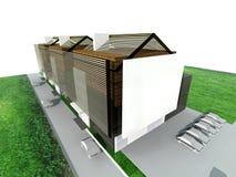 Casa viva moderna Ilustração Stock