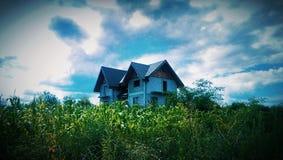 Casa vuota fotografie stock