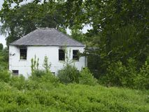 Casa vuota; 'ha dimenticato la batteria'! Fotografia Stock
