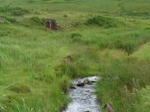 Casa y corriente de Hobbit foto de archivo libre de regalías