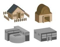 Casa y edificio
