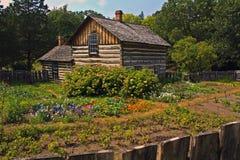 Casa y jardín de Pedersen Foto de archivo libre de regalías