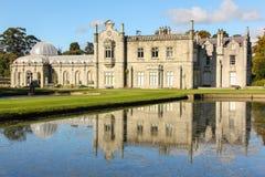 Casa y jardines de Kilruddery. Irlanda Imagen de archivo