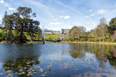 Casa y jardines de Powerscourt Foto de archivo libre de regalías