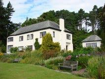 Casa y jardines, Escocia de Inverewe Fotos de archivo libres de regalías