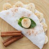 Casabe (bammy, beiju, bob, biju) - flatbread made from cassava (tapioca) Stock Photos