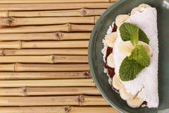 Casabe (bammy, beiju, plomb, biju) - flatbread de manioc (tapioca Photos libres de droits