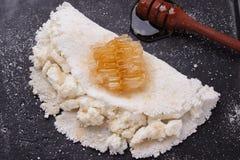 Casabe bammy, beiju, plomb, biju - flatbread de tapioca de manioc Photos libres de droits